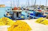 Fishing schooners — Stock Photo