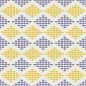 矢量菱形花纹 — 图库矢量图片