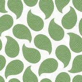 Padrão sem emenda abstrato verde — Vetor de Stock