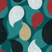 Retro abstract background. Beautiful seamless textile pattern — 图库矢量图片