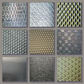 Textures steel — Stock Photo