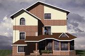 Dwelling House — Стоковое фото