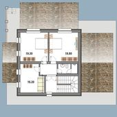 House Plan — Stockfoto