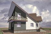 Modello di casa — Foto Stock