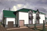 住宅の家 — ストック写真