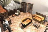Cottage Interior — Stock Photo