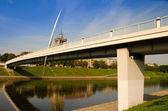 белый мост в вильнюсе — Стоковое фото