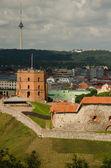 Tower of Gediminas in Vilnius — Stock Photo