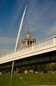 Pierced Bridge — Stock Photo