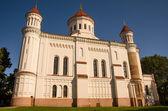 Église blanche à vilnius — Photo