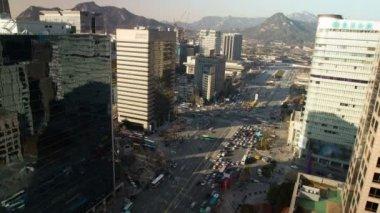 Seoul City, Korea — Stock Video