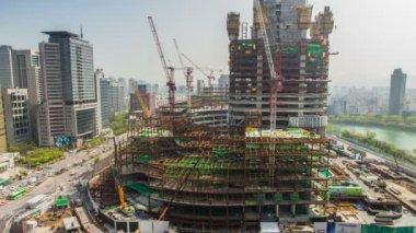 Ciudad de seúl — Vídeo de Stock