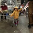 Stock Video: Baby At Store.