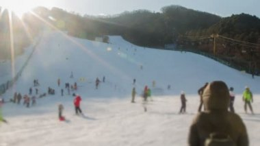 Seoul Ski Resorts — Stock Video