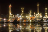 Refinery plant area — Stock Photo