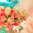Beautiful bouquet of flowers — Stock Photo