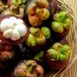 Fresh Mangosteen — Stock Photo