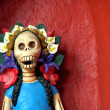 Day of the dead Catrina — Stock Photo