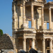 Ephesus library facade, Turkey — Stock Photo