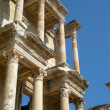 Turkey Ephesus library facade — Stock Photo
