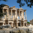 Turkey Ephesus library ancient ruins — Stock Photo