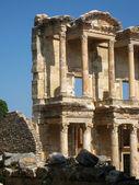 Ephesus library facade, Turkey — Stock Photo