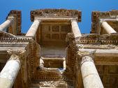 Turkey Ephesus library columns — Stock Photo