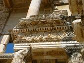Turkey Ephesus Libary close up — Stock Photo