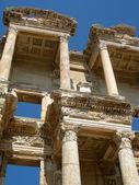 Turkey Ephesus library facade — Stock Photo