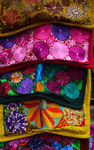 Traditional embroidered textile — Stockfoto