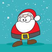 Weird santa — Stock Photo