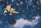 Angel figure christmas — Stock Photo
