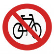 Banning bike — Stock fotografie #30654991