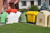 垃圾桶 — 图库照片