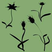 Flowers — Stockvektor