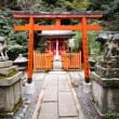 Stock Photo: red torii gate