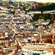 Stock Photo: Aerial view of city Bath , England
