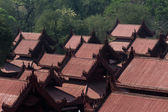 Palacio de mandalay, birmania — Foto de Stock