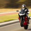 Stock Photo: Motorcyclist