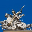 St. George statue  — Stock Photo