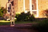 Wooden mannequin — Stock Photo