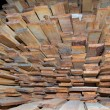 Stock Photo: Planks chaos