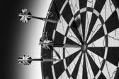 Winning Darts — Stock Photo