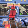 Throttle of homemade Flight Simulator — Stock Photo #30898749