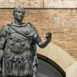 Stock Photo: Statue of Gaius Julius Caesar in Rimini, Italy