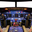 Постер, плакат: Cockpit of an homemade Flight Simulator