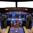 Cockpit of homemade Flight Simulator — Stock Photo #31481493