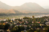 Mekong River from Above - Luang Prabang, Laos — Stock Photo