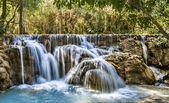 Kuang Si Falls - Waterfalls at Luang Prabang, Laos — Stock Photo