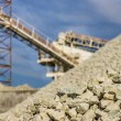 Gravel Quarry — Stock Photo